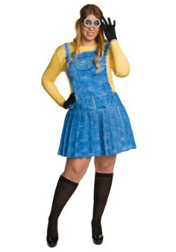 Plus Size Female Minion Costume