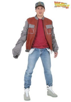 Plus Back to The Future Marty McFly Jacket