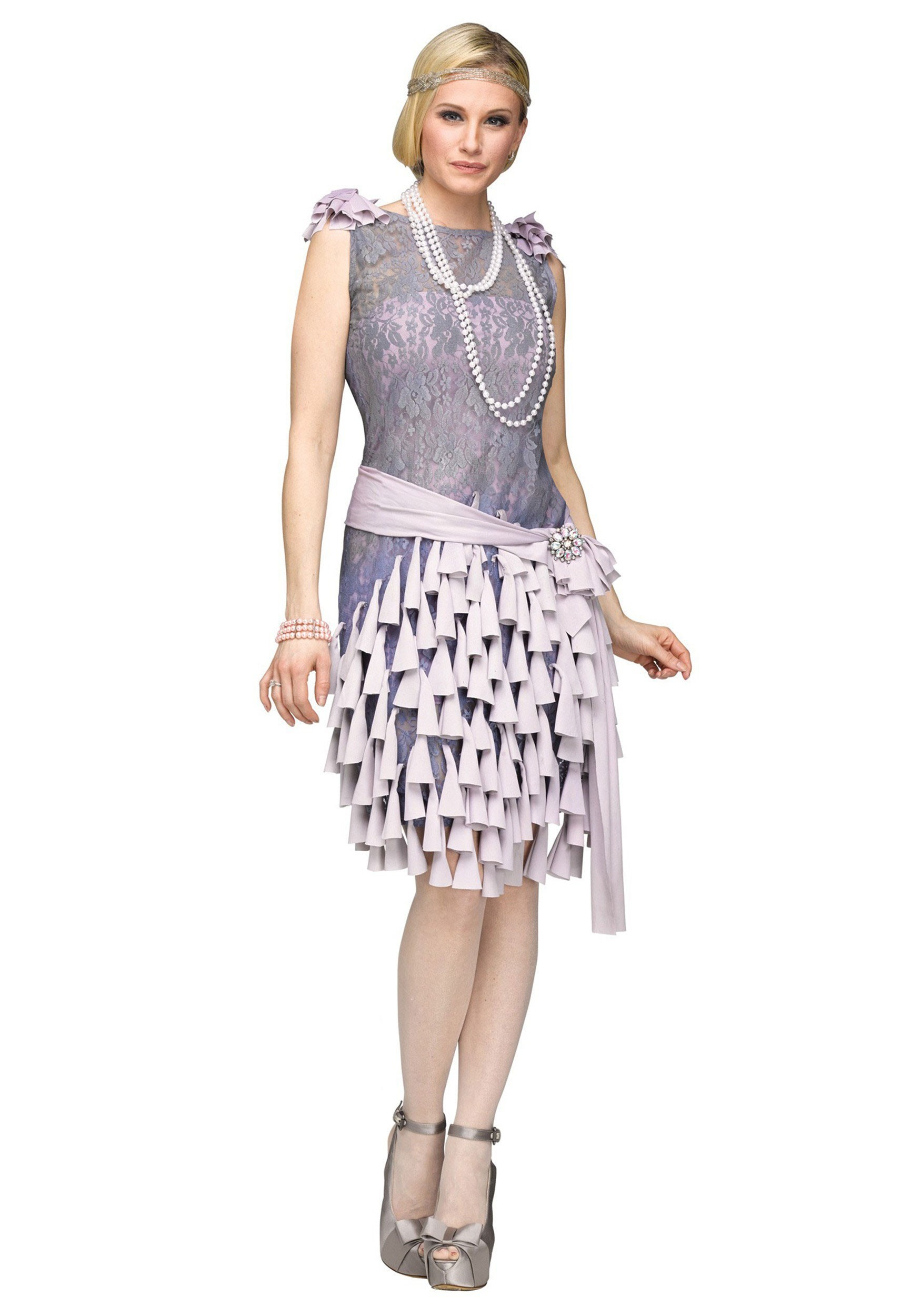 Voorkeur Women's Great Gatsby Daisy Buchanan Bluebells Dress Costume #PD65