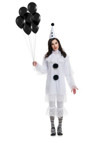Womens Heartbroken Clown Costume