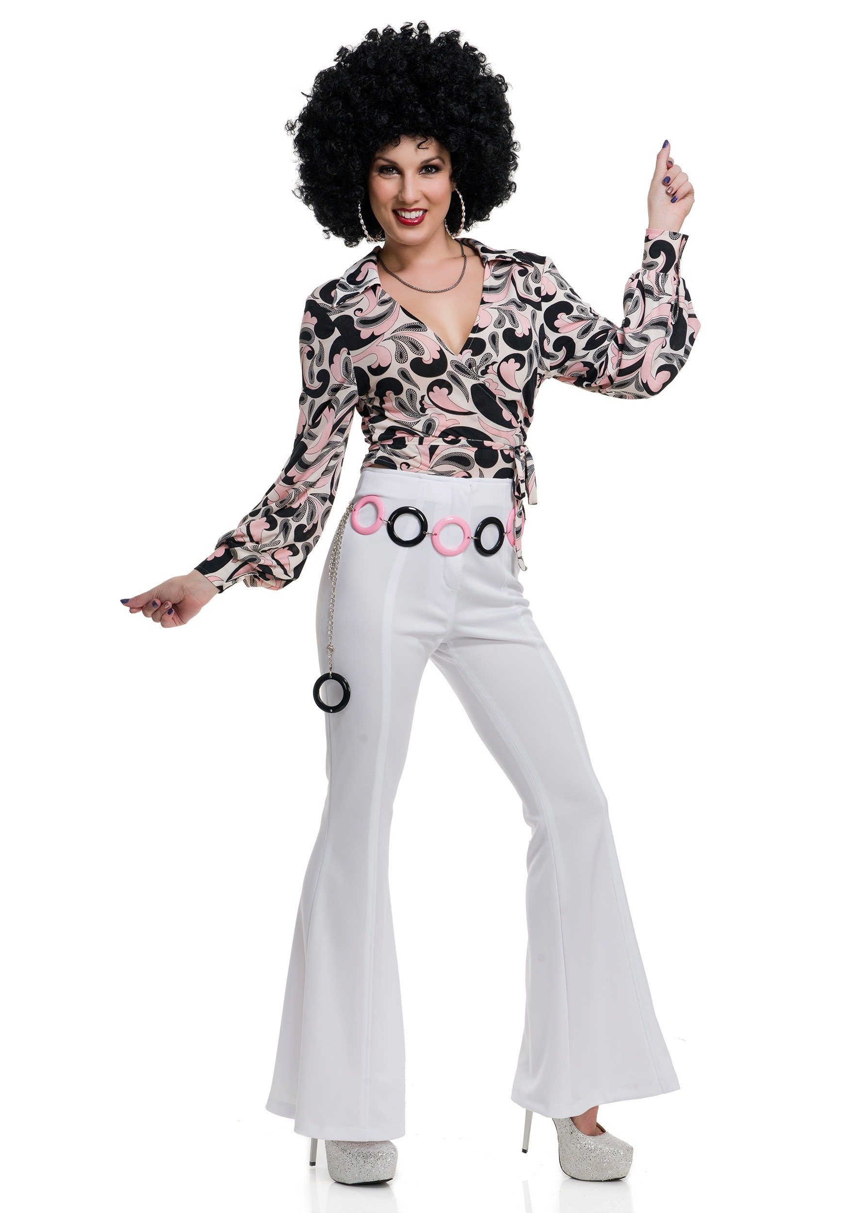 Women S Paisley Disco Hottie Shirt