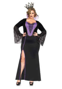 Plus Evil Queen Costume