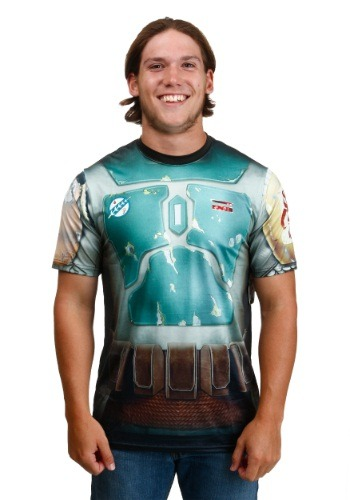Star Wars Boba Attire Sublimated Costume T-Shirt