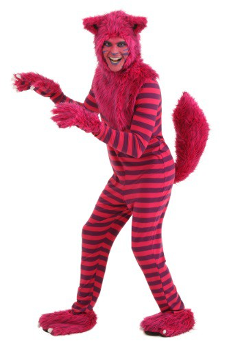 Plus Size Deluxe Cheshire Cat Costume