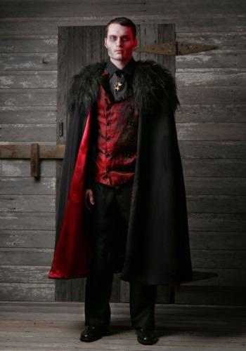 Plus Size Deluxe Men's Vampire Costume