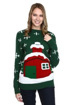 Santa's Stuck Christmas Sweater
