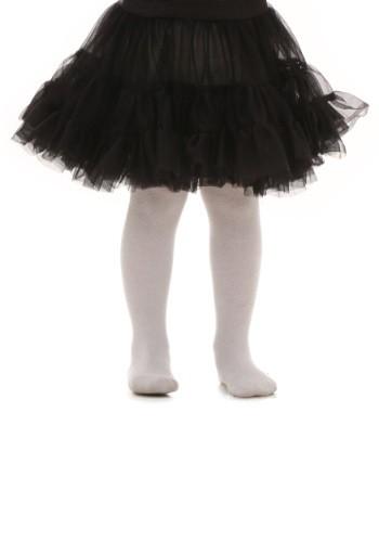 Toddler Black Knee Length Crinoline