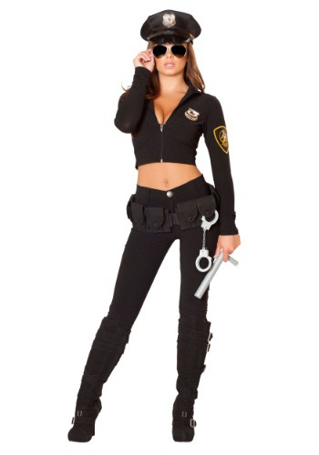 Women's 6 Pc Miss Law and Order Costume