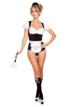 Women's Foxy Cleaning Maiden Costume