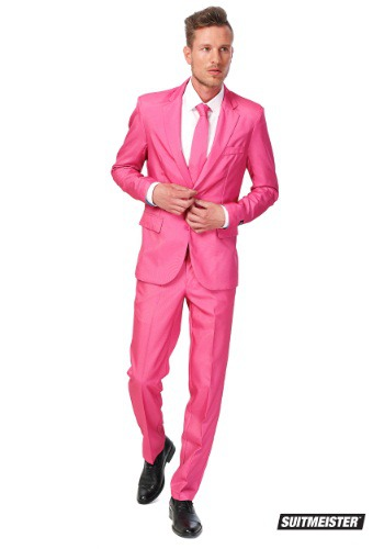 Men's Opposuits Basic Pink Suit