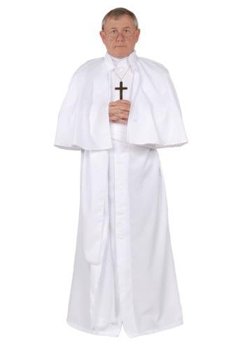 Men's Plus Size Pope Costume