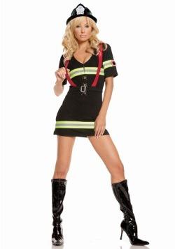 Blazin Hot Firefighter Costume