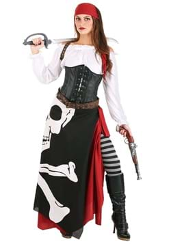 Womens Pirate Flag Fortune Teller Costume update