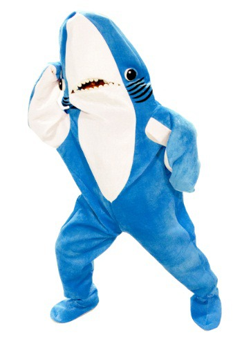 Adult Katie Perry Left Shark Costume