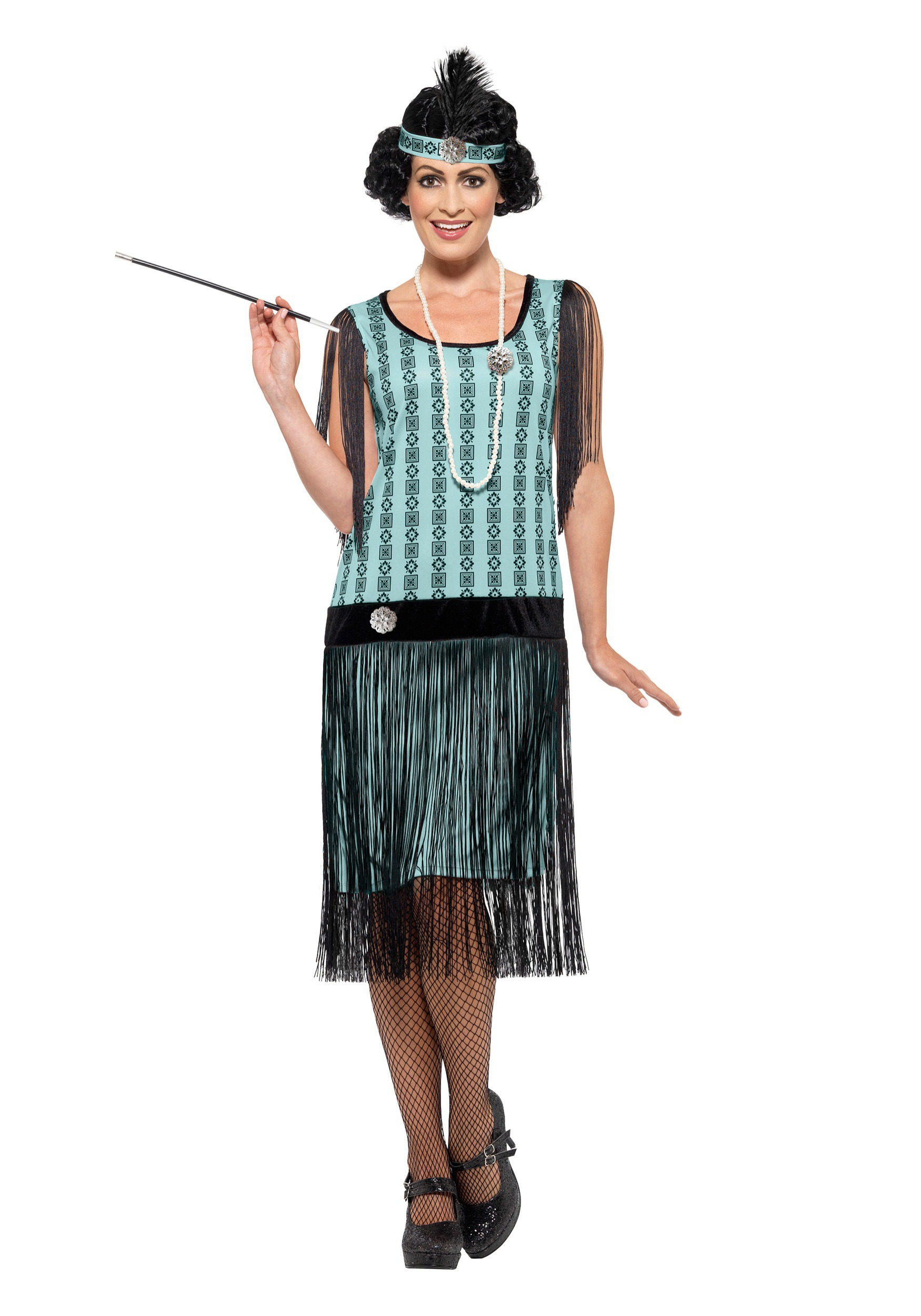 717f133d0e Women's 1920s Mint Coco Flapper Costume