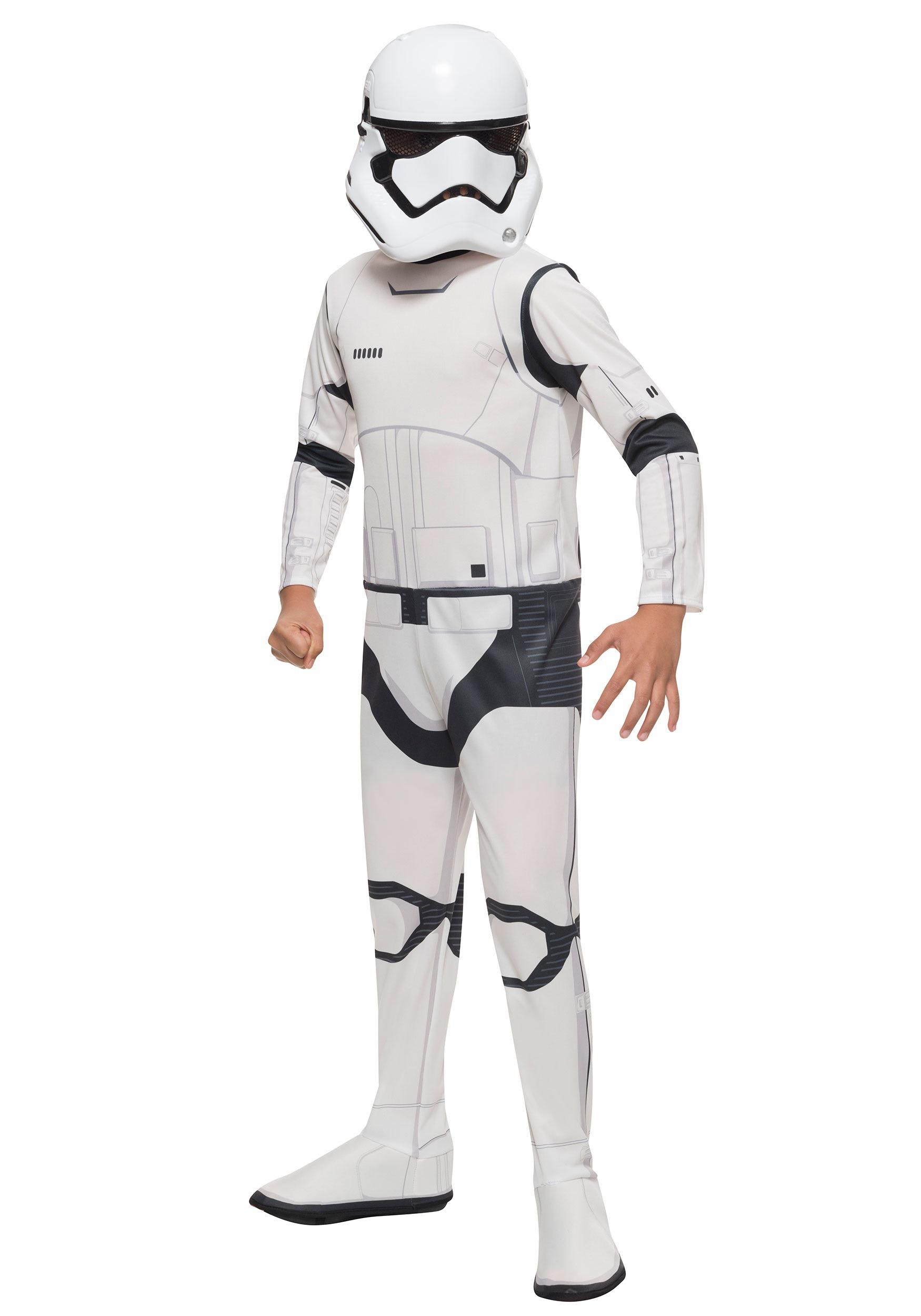 Child Classic Star Wars Ep. 7 Stormtrooper Costume  sc 1 st  Halloween Costumes EU & Child Classic Star Wars The Force Awakens Stormtrooper Costume