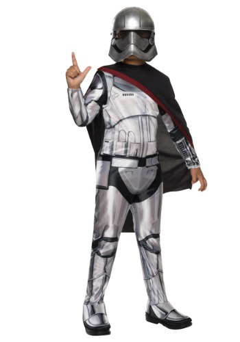 Child Classic Star Wars Ep 7 Captain Phasma Costume
