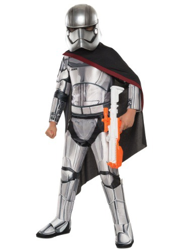 Child Deluxe Star Wars Ep. 7 Captain Phasma Costume