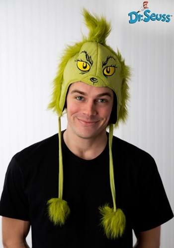 Deluxe Grinch Hoodie Hat
