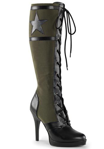Women's Militia Boots