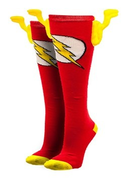 DC Comics The Flash Knee High Wing Socks