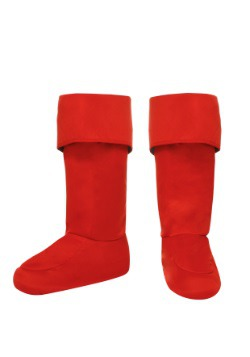 Child Red Superhero Bootcovers