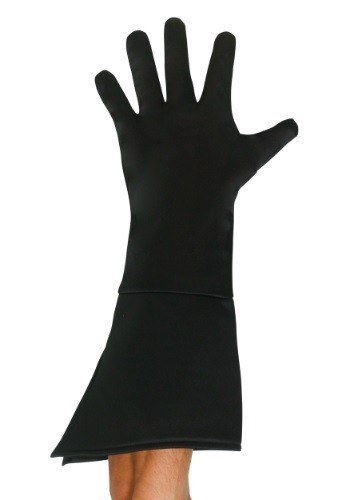 Child Black Superhero Gloves