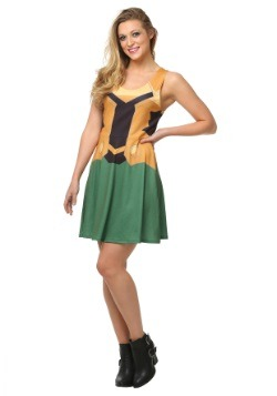 Marvel Loki A-Line Dress