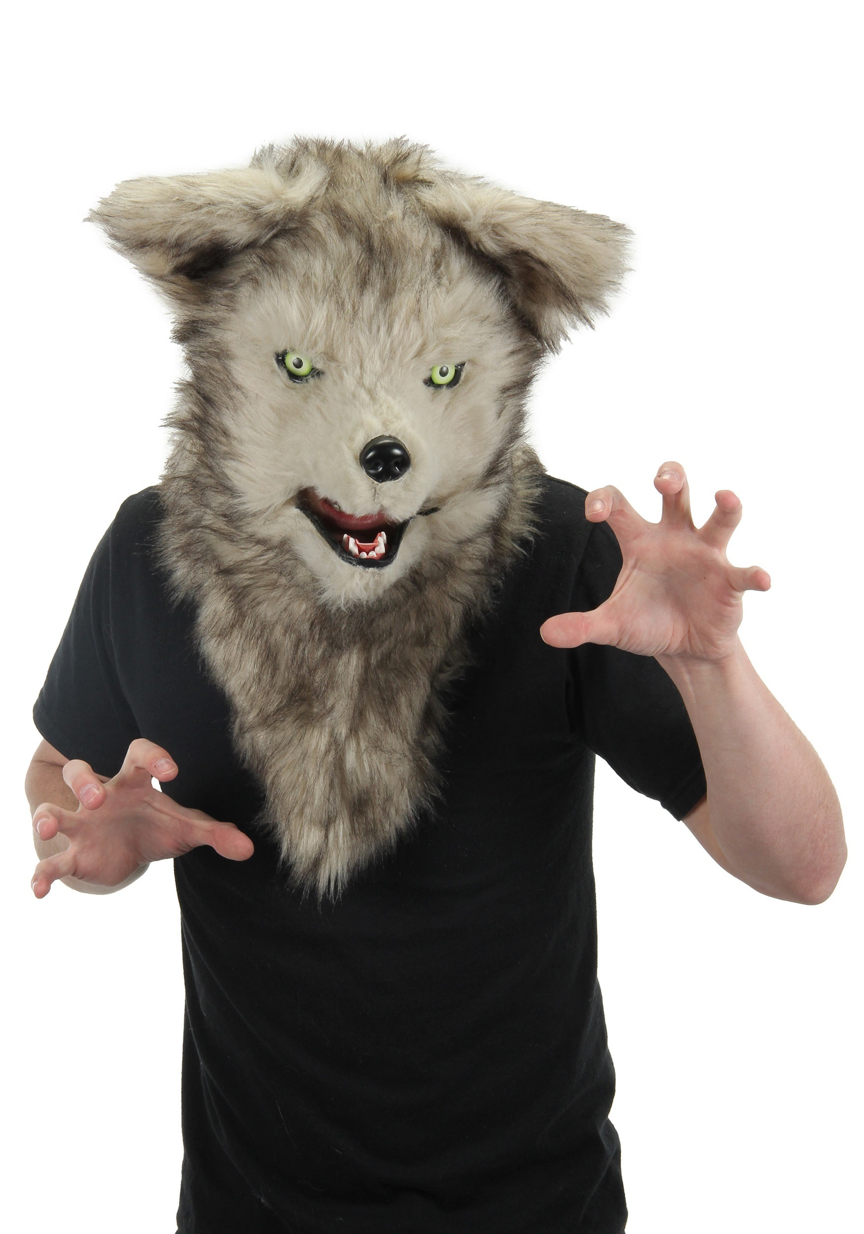Mouth Mover Wolf Mask