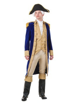 Plus Size George Washington Costume