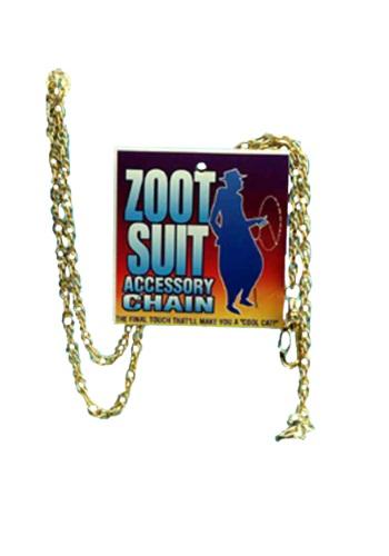 Gold Zoot Suit Chain