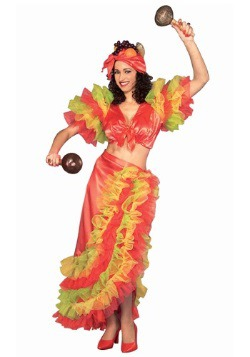 Latin Dancer Costume