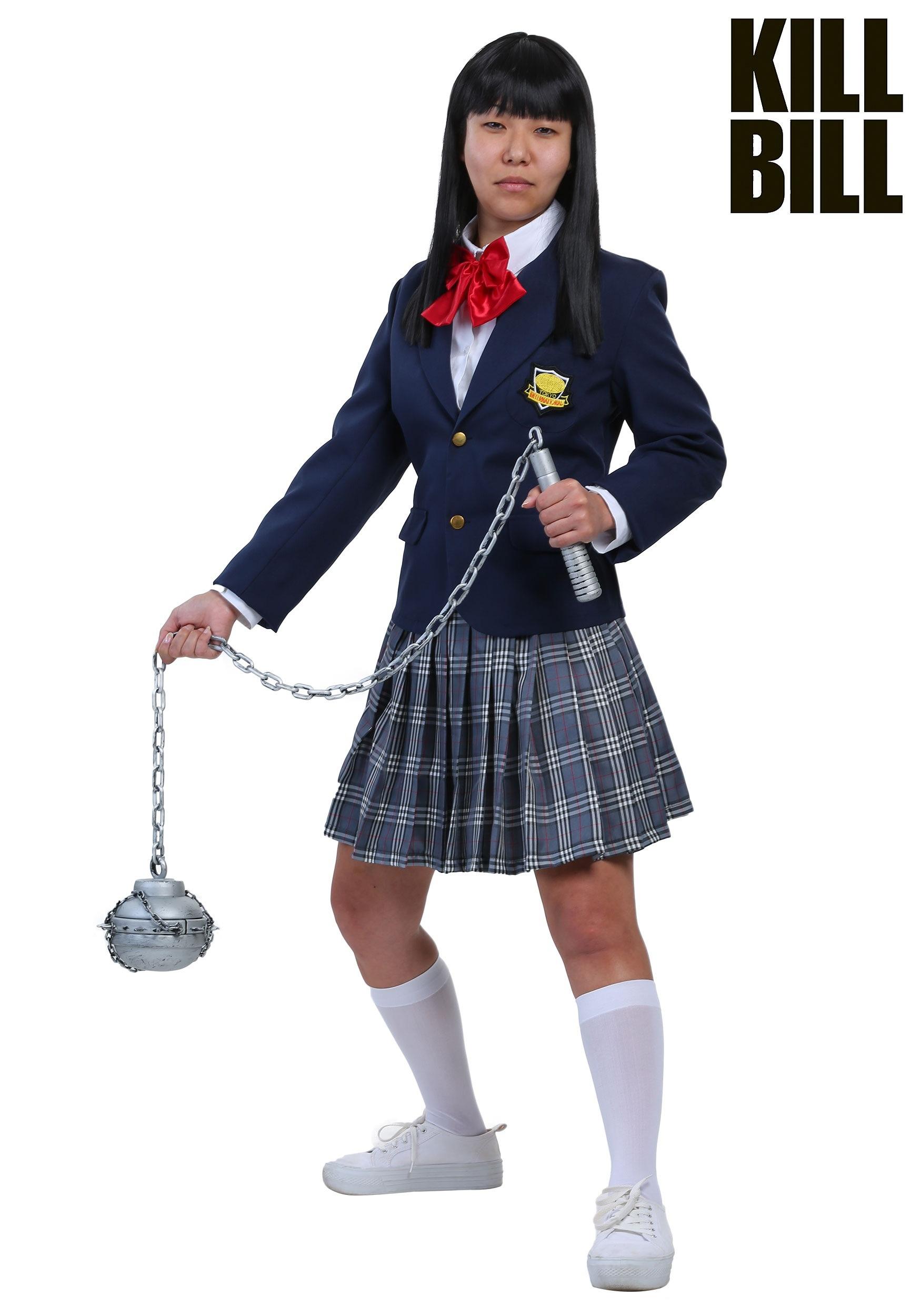72e09239b5 Kill Bill Gogo Yubari Costume for Women