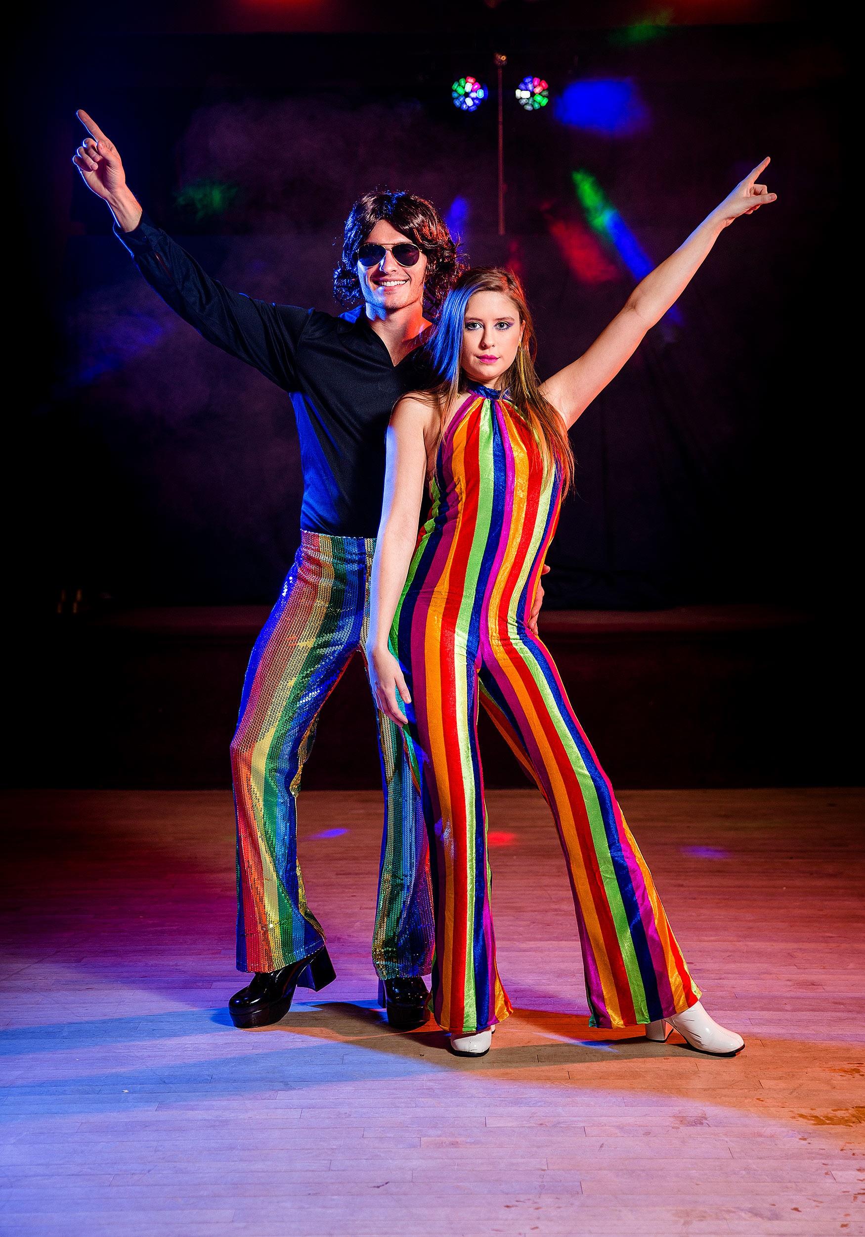 835d051ac55 Womens 70 s Disco Jumpsuit Costume