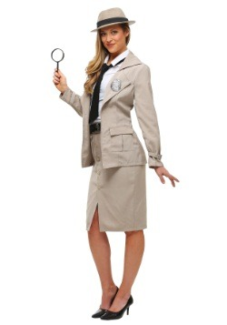 Adult Miss Private Eye Costume