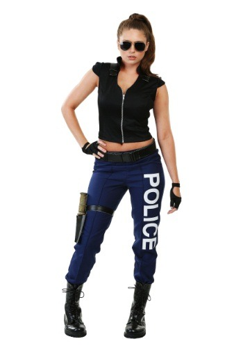 Women's Tactical Police Plus Size Costume