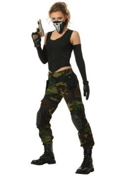 Women's Fighting Soldier Costume