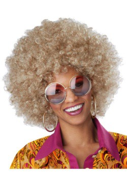 Dirty Blonde Afro Wig
