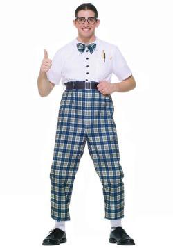 50s Class Nerd Costume