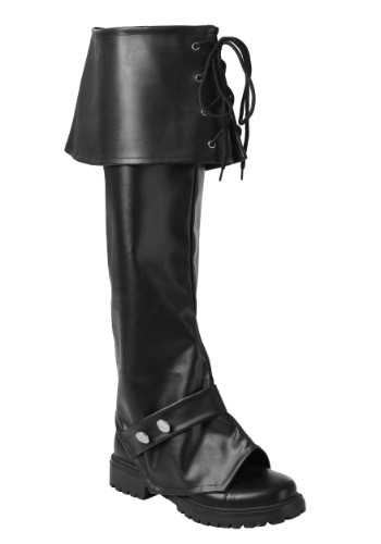 Adult Deluxe Vinyl Boot Tops