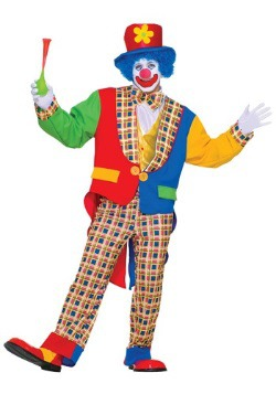 Adult Clown Costume