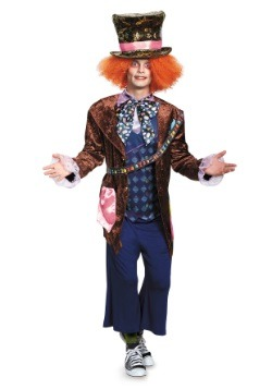 Adult Deluxe Mad Hatter Costume