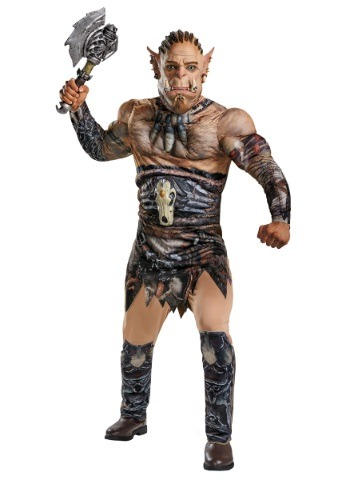 Plus Size Durotan Muscle Costume