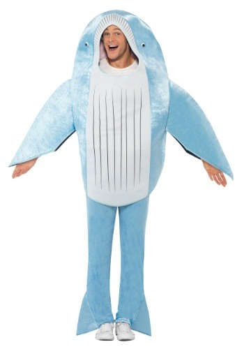 Deluxe Blue Whale Costume