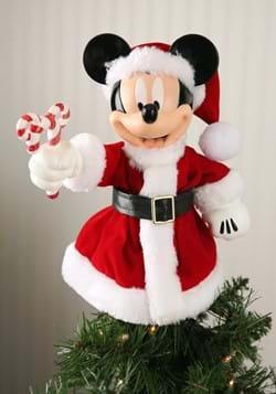 Santa Mickey Mouse Treetop Tabletop Piece