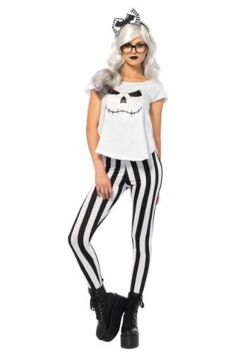 Women's Hipster Skeleton Costume
