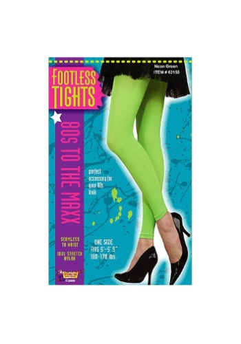 INOpets.com Anything for Pets Parents & Their Pets Neon Green Footless Tights