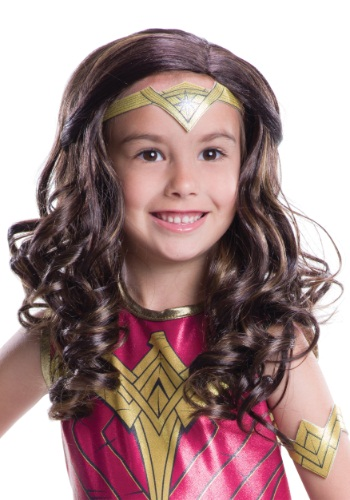Dawn of Justice Child Wonder Woman Wig