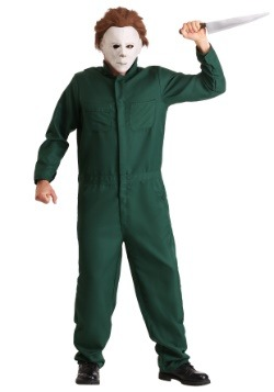 Halloween II Adult Michael Myers Coveralls