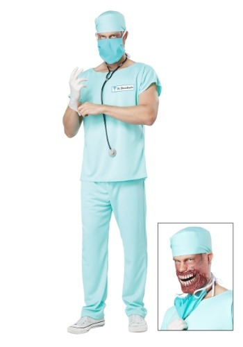 Adult Dr. Bloodbath Costume
